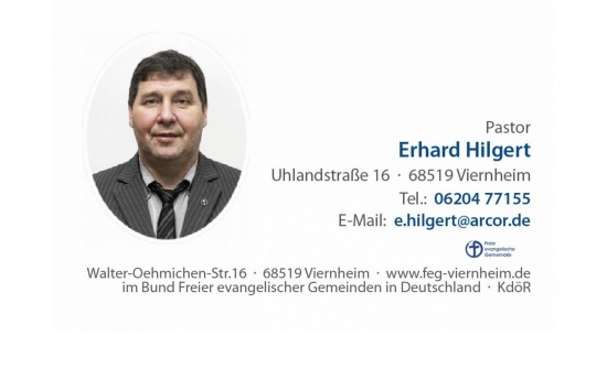 Pastor Erhard Hilgert