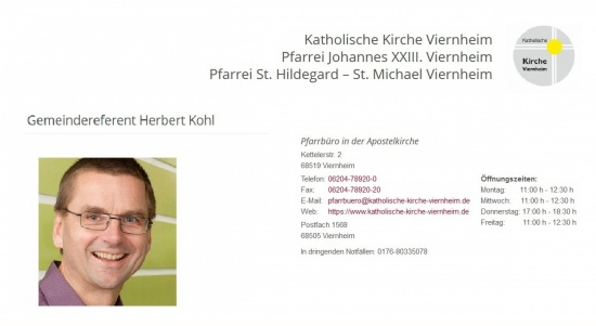 Gemeindereferent Herbert Kohl